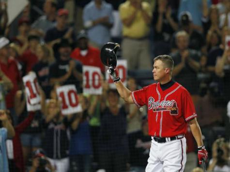 Braves to Retire Chipper Jones' No. 10