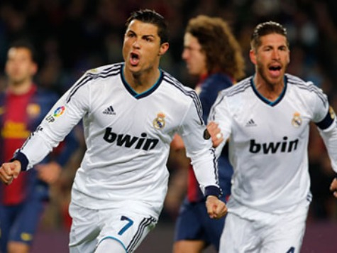 Real Madrid New AP World No. 1 After Two 'Clasico' Wins over Barca