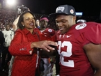 Stanford Football Coach: Condi Rice My 'Cleanup Hitter' in Recruiting