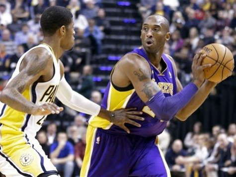 Bryant Leaves After First Quarter in Lakers Win over Pacers