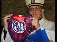 Devils Beware; Pope is Cheering (Soccer) Saints
