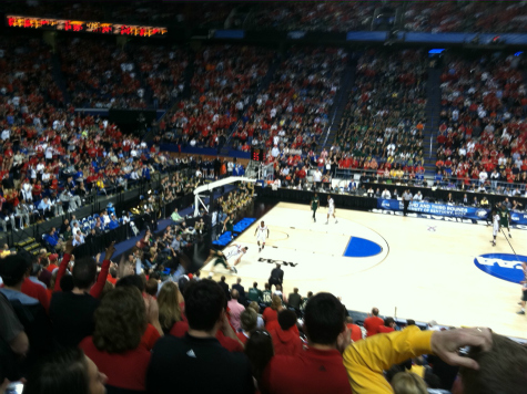 Louisville Wins with 'Sea of Red' at Rivals' Arena