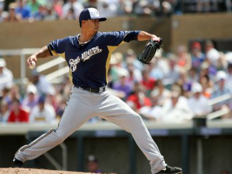 Brewers Set to Rely on Lohse to Bolster Weak Rotation
