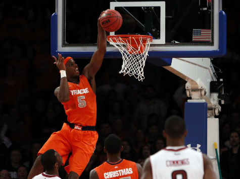 Obama Watches Record Defensive Effort by Syracuse