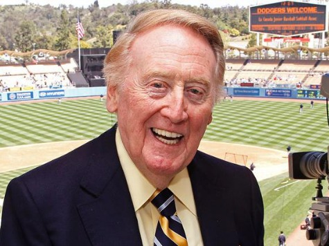 Dodgers Face Drama, Expectations, Pressure in Vin Scully's 64th Season