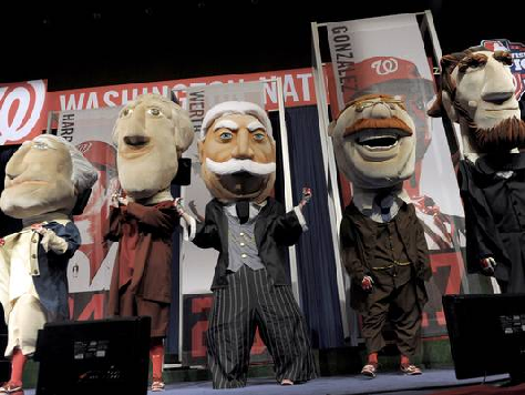 WaPo Columnist: Nats Should Replace Taft Mascot with FDR in Wheelchair for 'Inclusiveness'