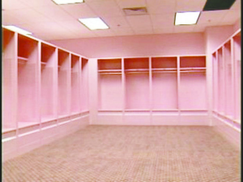 Pink Iowa Football Visitor's Locker Room Under Attack for Being 'Homophobic'