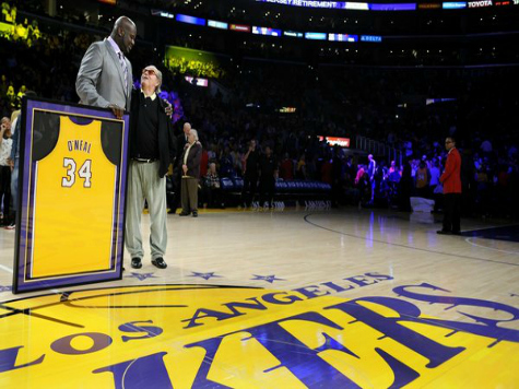 Shaq's Jersey Retired with Snafu