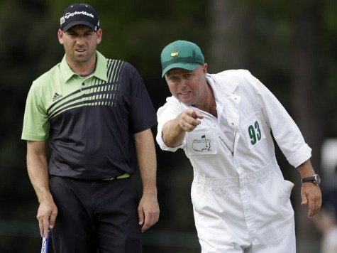 Sergio Garcia Good Enough to Be Masters Co-Leader