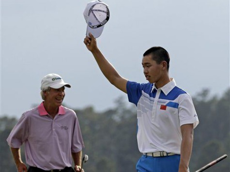 14-Year-Old Amateur Guan Bests Defending Champ Watson by Shooting 73