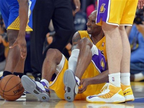 Kobe Out 6-9 Months After Rupturing Achilles
