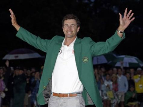 'C'mon Aussie!': Adam Scott Outduels Cabrera to Become First Australian Masters Champ