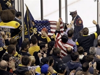 Boston Strong: Fans Chant 'Let's Go Boston' As Sports Return