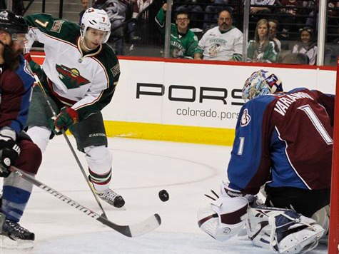 Wild Clinch Playoff Berth With Win Over Avs