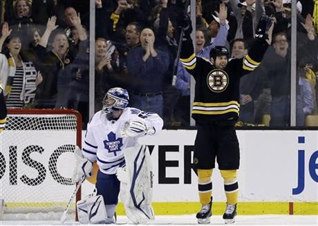 Bruins Destroy Maple Leafs in Game One