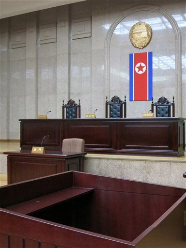 North Korea sentences American to 15 years' labor