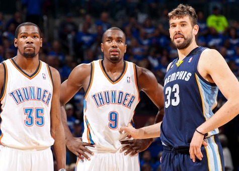 Durant Lifts OKC Past Memphis
