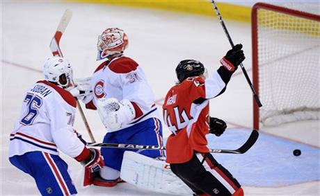 Rookie Pageau Scores Three As Senators Beat Canadiens 6-1