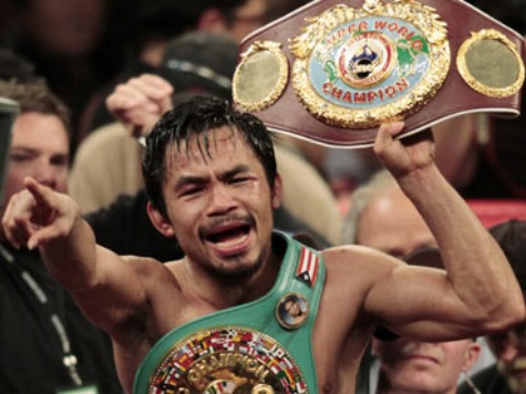 High U.S. Tax Rate Forces Boxer Manny Pacquiao to Fight Overseas