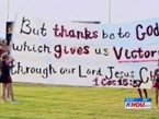 Texas Judge: Cheerleaders Can Display Bible Verses on Banners