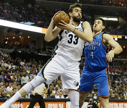 Memphis Moves Ahead Of Thunder With 87-81 Win