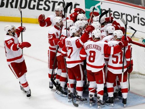 Detroit Sends Anaheim Packing In Game 7