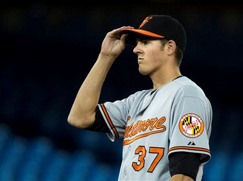 Orioles call up youngest pitcher in the AL but are defeated by Blue Jays