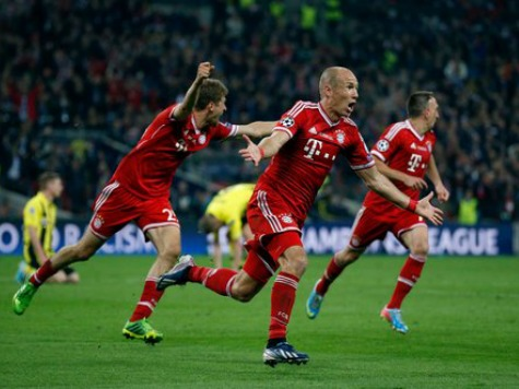 Bayern Munich First German Team to Win Treble