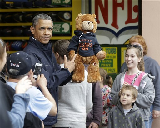 Top 5 Obama Sports Disasters
