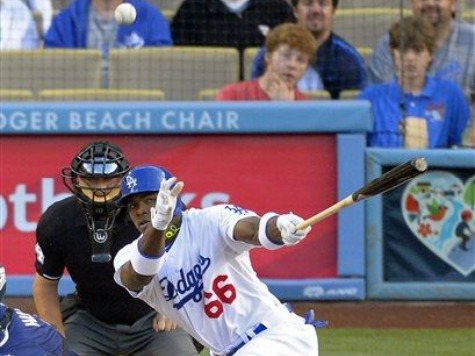 Yasiel Puig Makes Smashing Debut for Dodgers in Win
