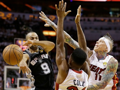 NBA Finals: Tony Parker, Spurs Beat Heat in Game 1