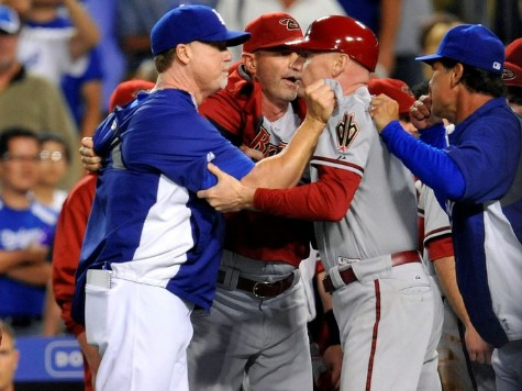 Players, Coaches Brawl in Dodgers Win over Diamondbacks
