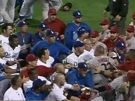 MLB Suspends 8 Players for Dodgers-Diamondbacks Brawl