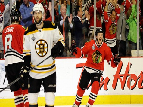 Blackhawks, Bruins Live Up to Expectations in Game 1