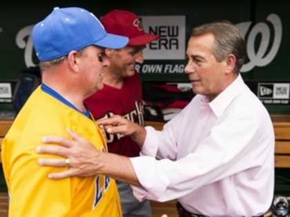 Dems Thrash GOP 22-0 in Annual Congressional Baseball Game