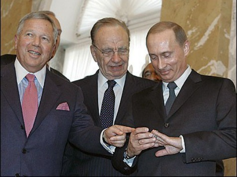 Putin Stole Patriots Owner's Super Bowl Ring: 'I Can Kill Somebody with This'