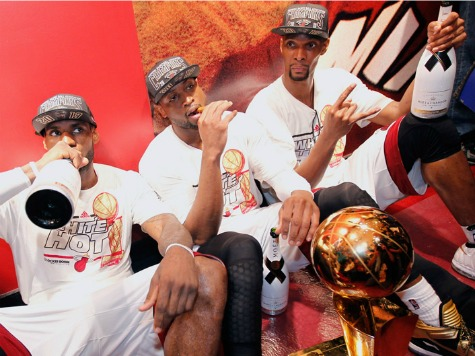 Bar Owner Picks Up $100K Champagne Tab for Heat Players