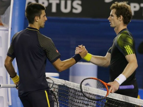 Djokovic, Murray Build Slam Rivalry