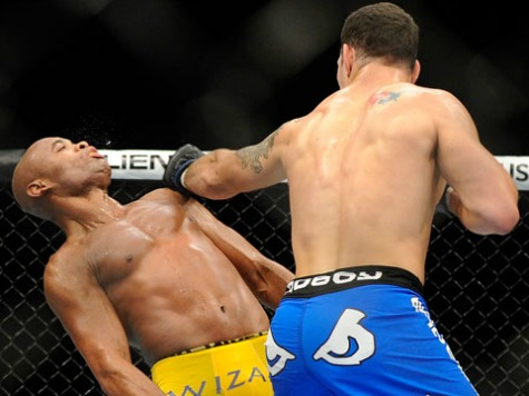Anderson Silva Loses UFC middleweight Title While Showboating