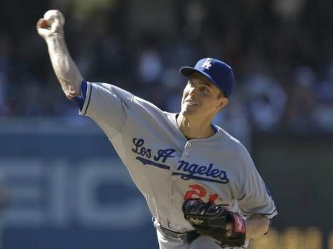 Greinke Pulls Dodgers within 3 1/2 of 1st