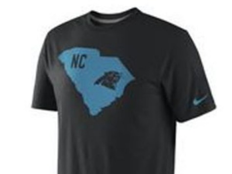 Oops! Nike Puts Carolina Panthers Logo on South Carolina Silhouette