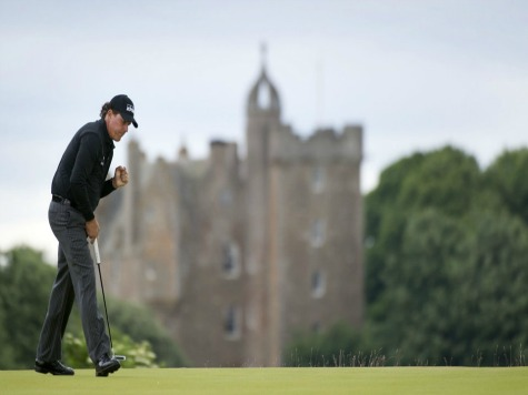 Mickelson Wins Scottish Open, Ends Europe Drought