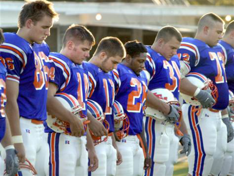 ACLU Spurs MI School District to Ban Team Prayer 'Tradition'