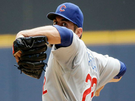 Rangers Acquire Cubs' Best Pitcher, Garza