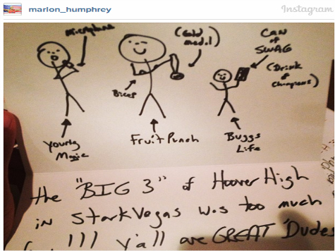 Mississippi State Seeks to Lure Recruit… with Stick Figures