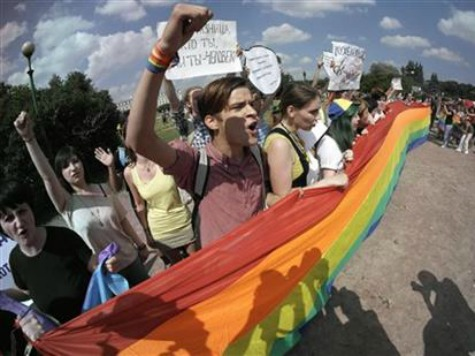 Activists Confront Russian Envoy Over Laws Against Gay Rallies