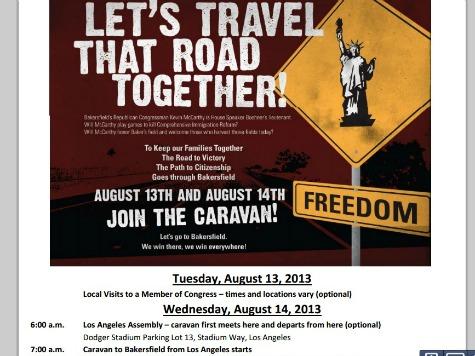 Dodgers Unaware of Pro-Immigration Reform Caravan 'from… Dodger Stadium'
