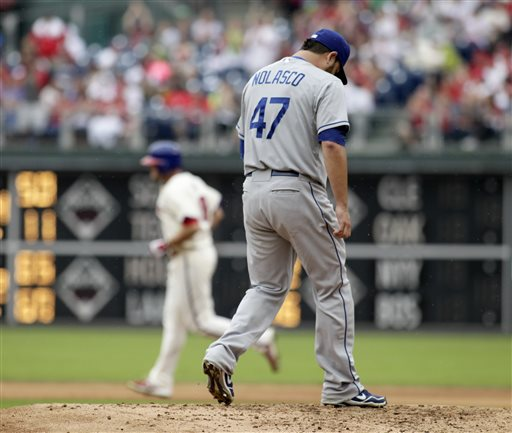 Dodgers Lose to Phillies, Ending 10-Game Run