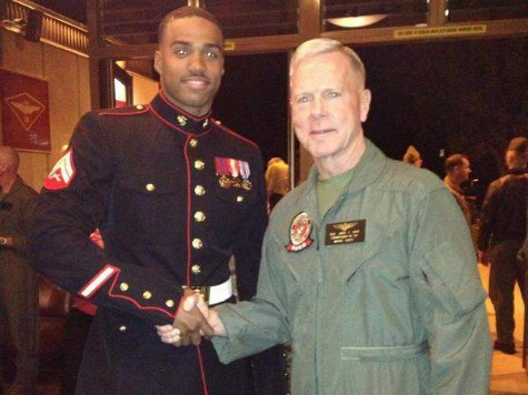 Exclusive–Steven Rhodes: Marine Vet NCAA Banned over Military Rec. League Talks with Breitbart Sports