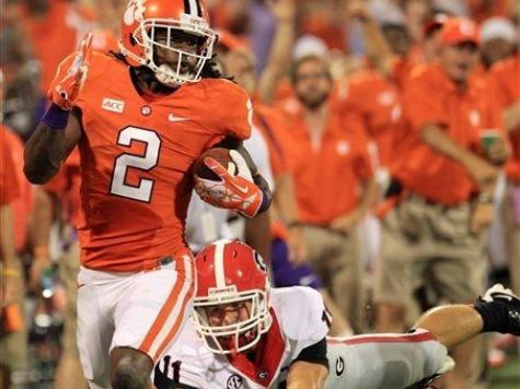 No. 8 Clemson Wins Showdown Against No. 5 Georgia, SEC